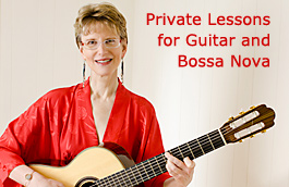 Private Lessons for Guitar and Bossa Nova, Wilmington, Delaware