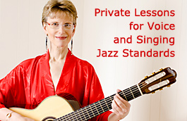 Private lessons for Voice and Singing Jazz Standards, Wilmington, Delaware